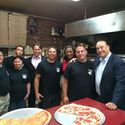 The PizzaLino family and the Hungry Investor's team